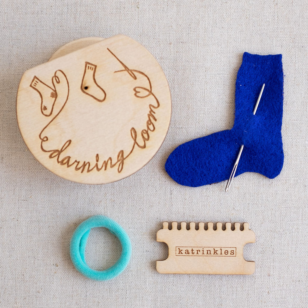 Fancy Tiger Darning and Mending Loom Kit