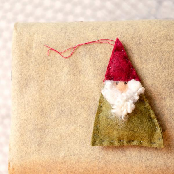 Kids Gnome Ornament