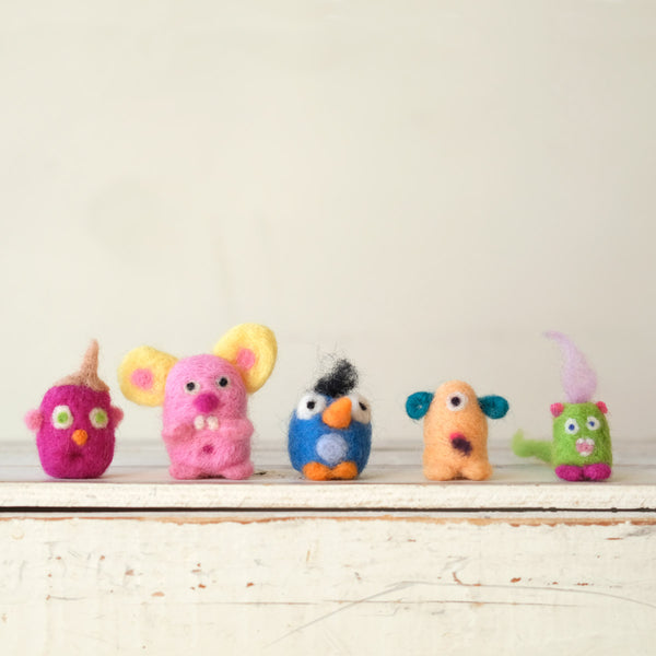 Kids Needlefelting 101: Monsters