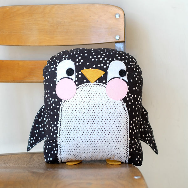 Kids Sewing 201: Penguin Stuffie
