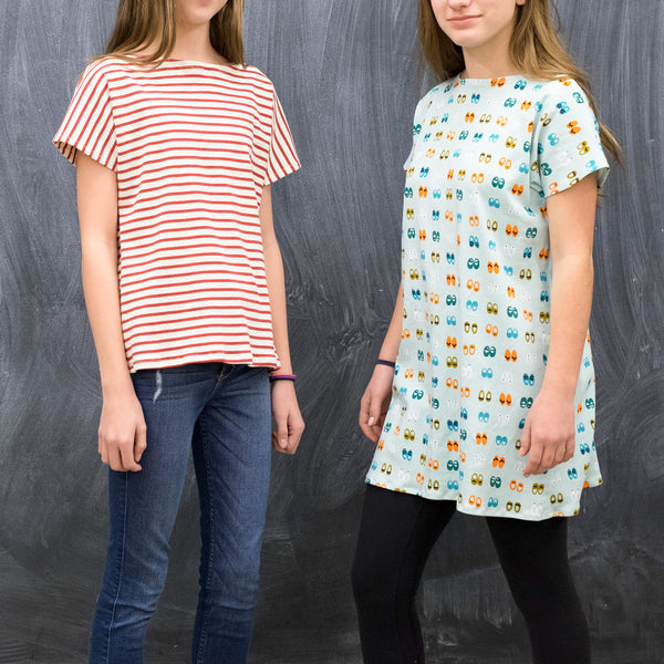 Kids Sewing 401: Tee or Dress