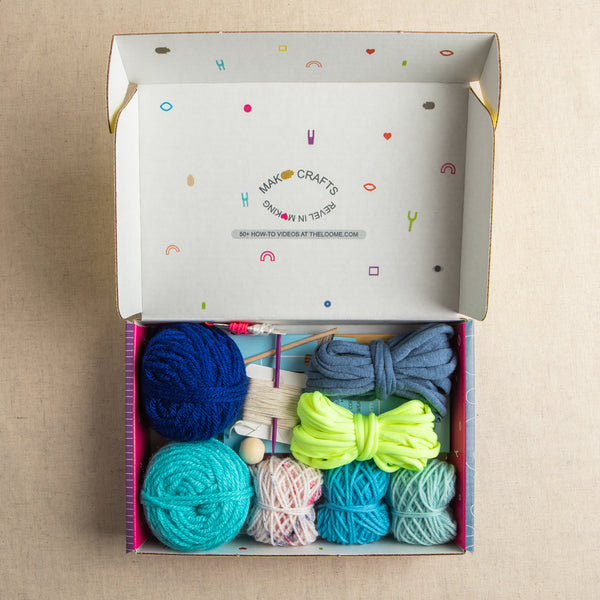 Loome Kit: 5 Crafts in a Box