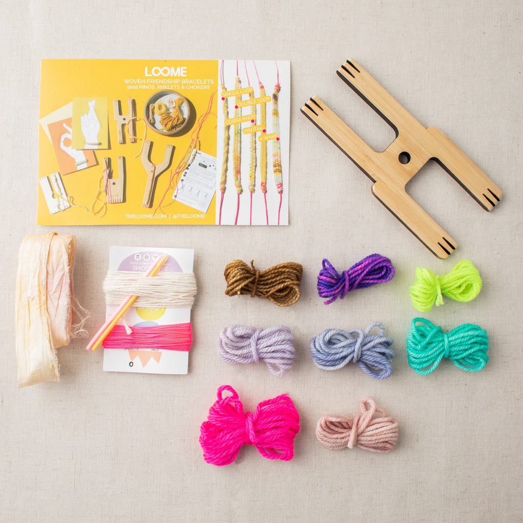 Loome Kit: Friendship Bracelets