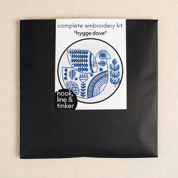 Holiday Hygge Dove Embroidery Kit