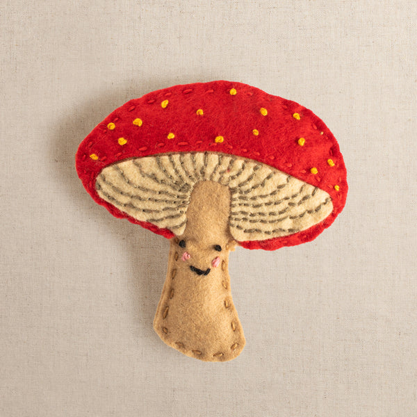 Marta the Marvelous Mushroom Felt Stitching Kit