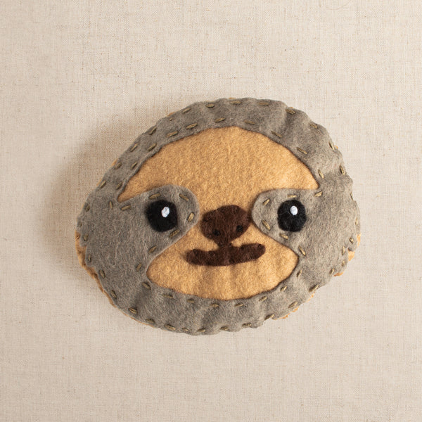 Sven the Diligent Sloth Felt Stitching Kit