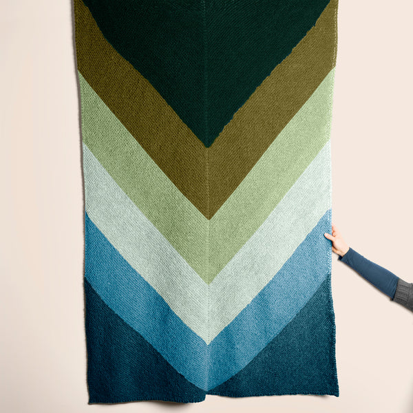 Heirloom Chevron Throw Kit Pre-Order