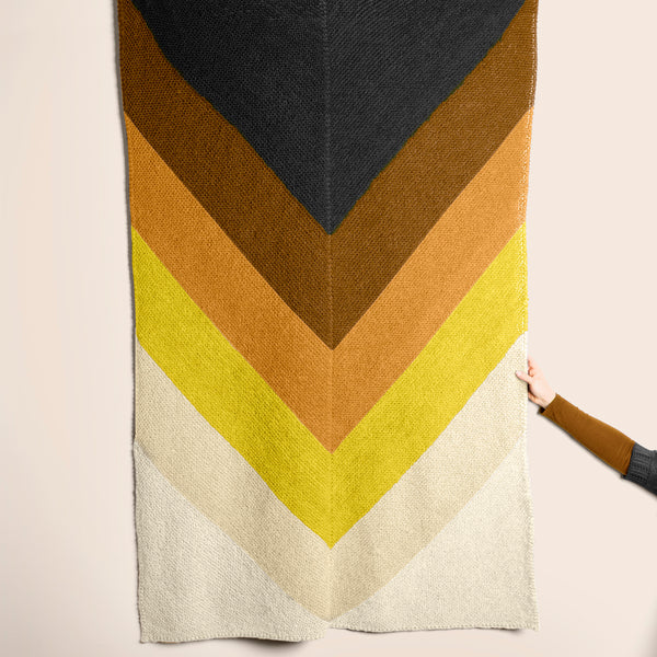 Heirloom Chevron Throw Kit: Olathe Pre-Order
