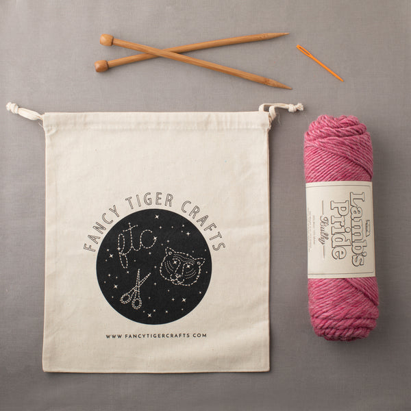 Fancy Tiger Knitting Kit for Beginners