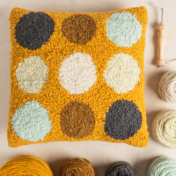 Pivot Punch Needle Pillow Kit