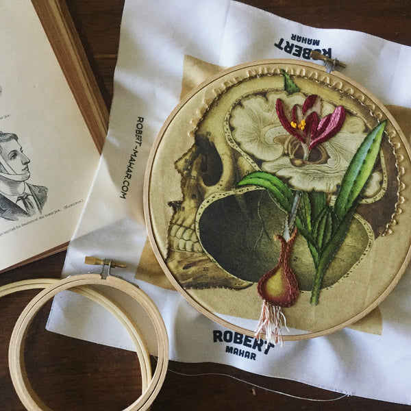 Anatomical Embroidery with Robert Mahar