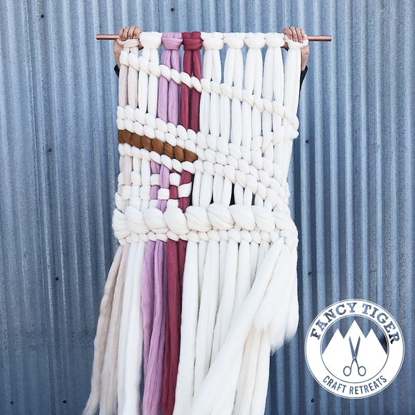 Off Loom Weaving with Roving with Meghan Shimek
