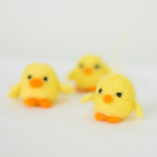 Needlefelting 101: Chicks