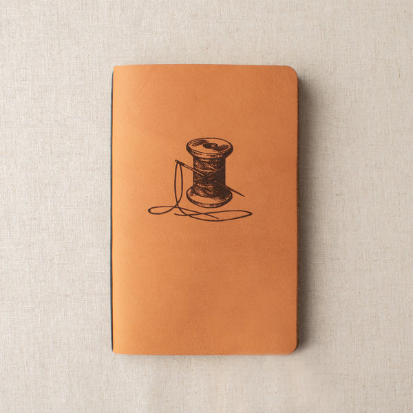 Fancy Tiger x Winter Session Leather Sewing Notebook