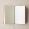 Fancy Tiger x Winter Session Leather Yarn Notebook
