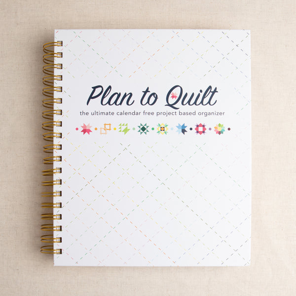 Plan to Quilt Organizer