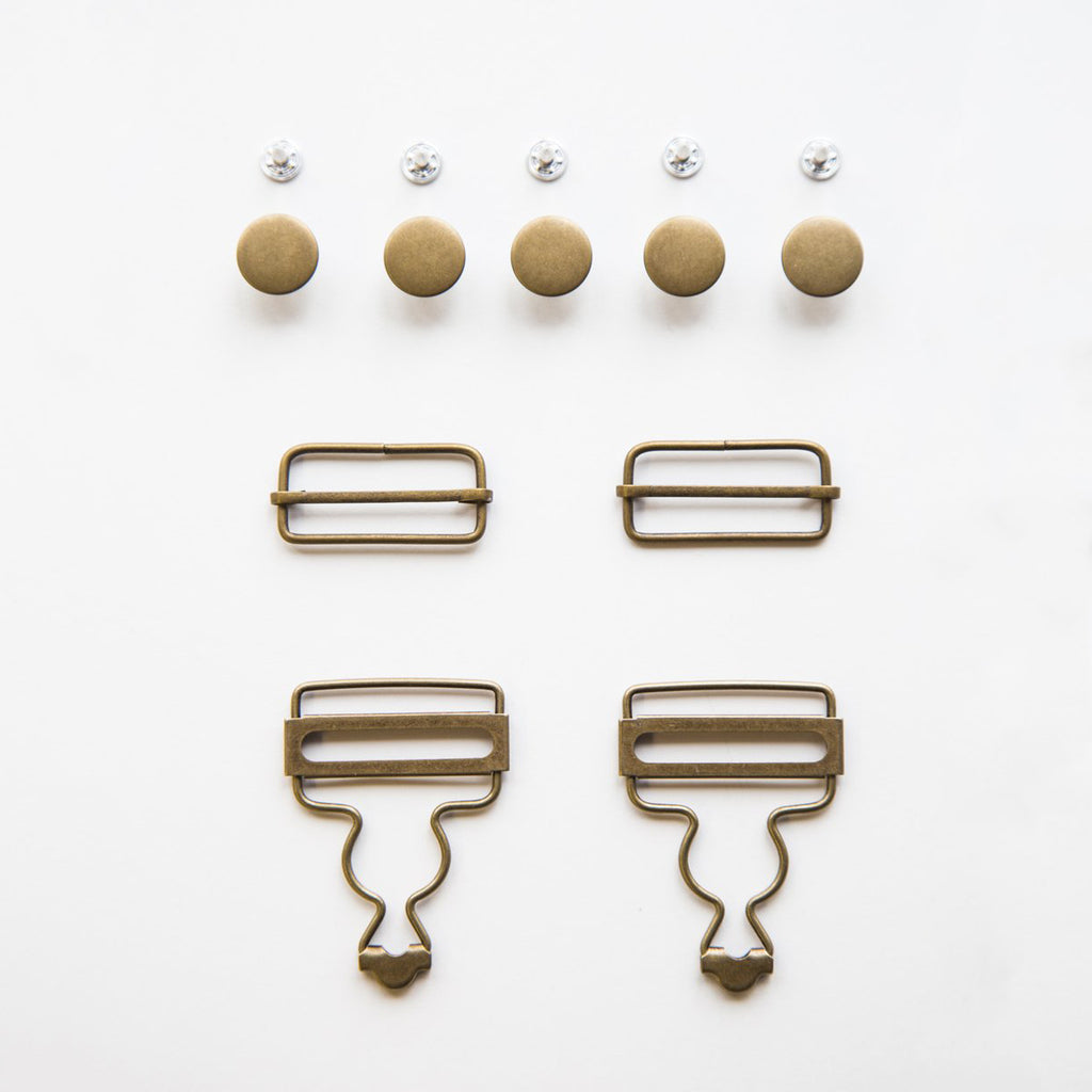 Jenny Overalls Hardware Kit