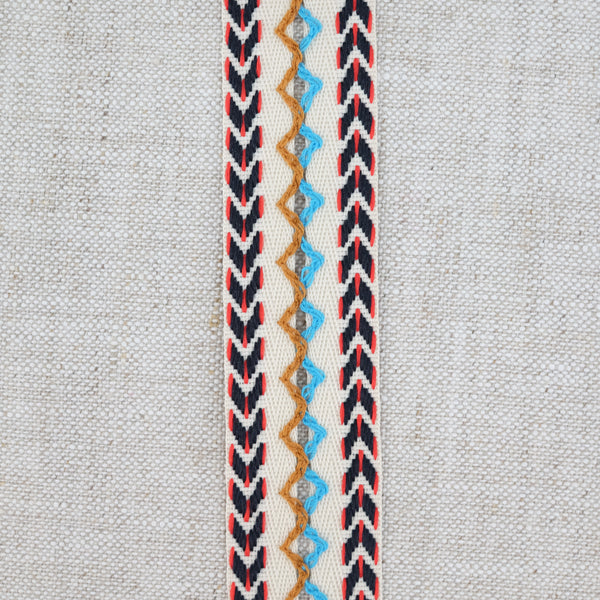 Foldover Chevron Trim