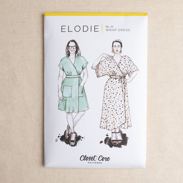 Elodie Wrap Dress Pattern