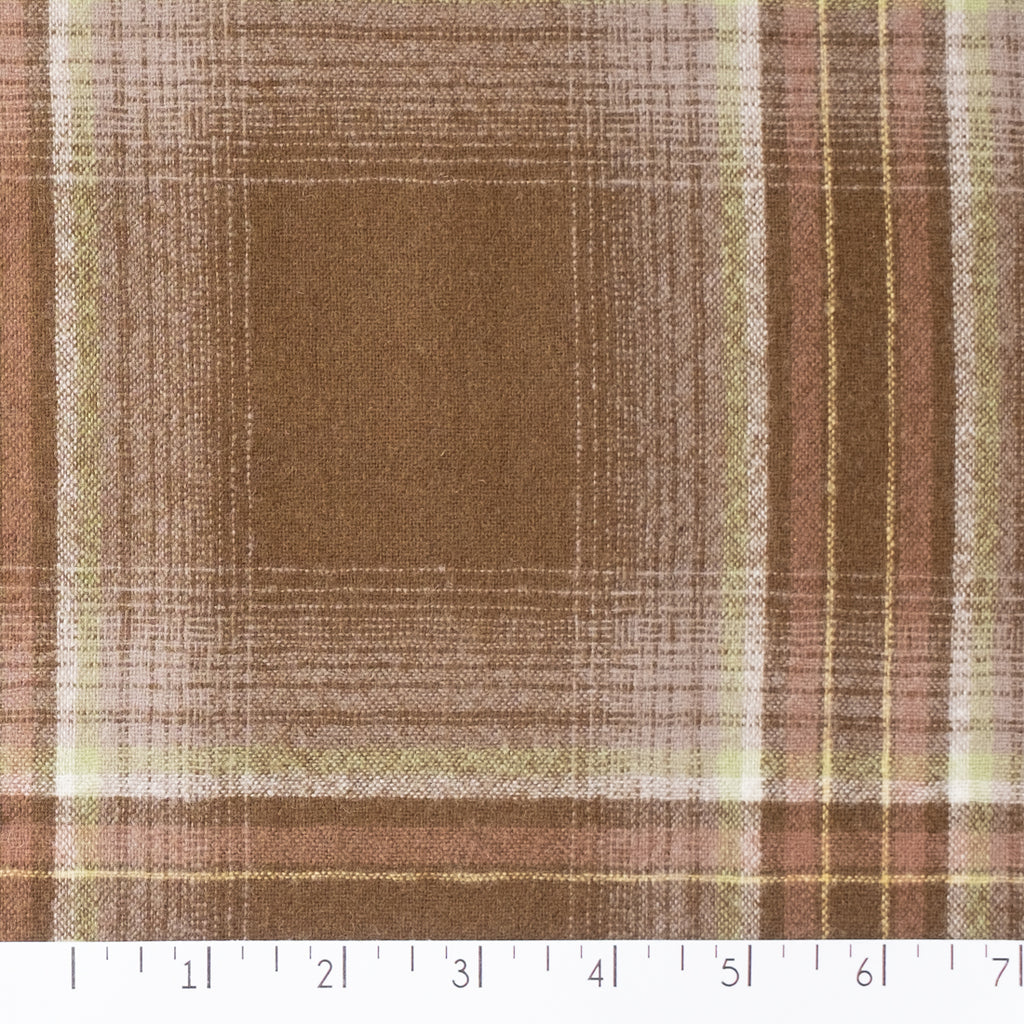 Plaid 100% Wool Shirting
