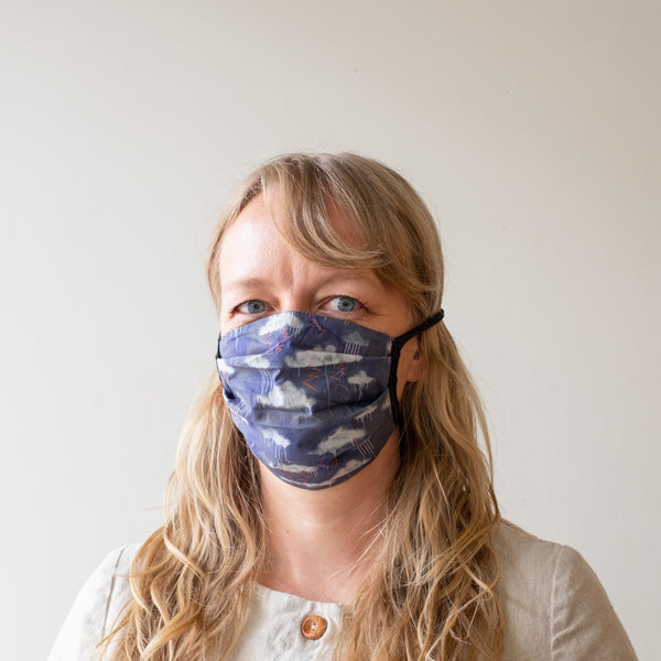 Jersey Strap Pleated Mask Kit