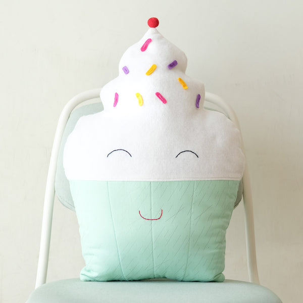 Kids Cupcake Pillow