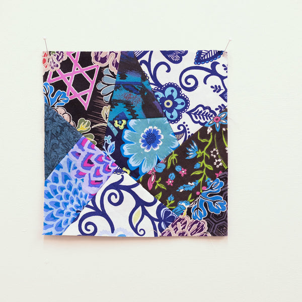 Quilting Skills: Crazy Patch