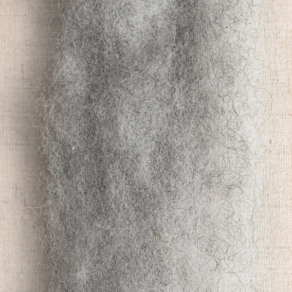 Shetland Roving Medium Grey