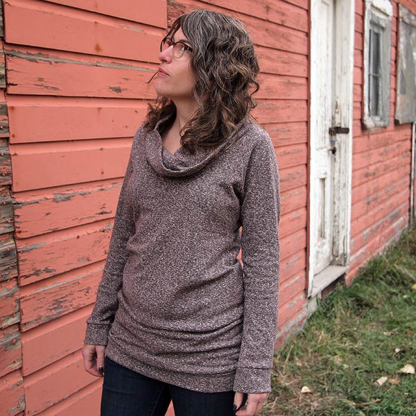 Serger 201: Cowl Tunic or Dress