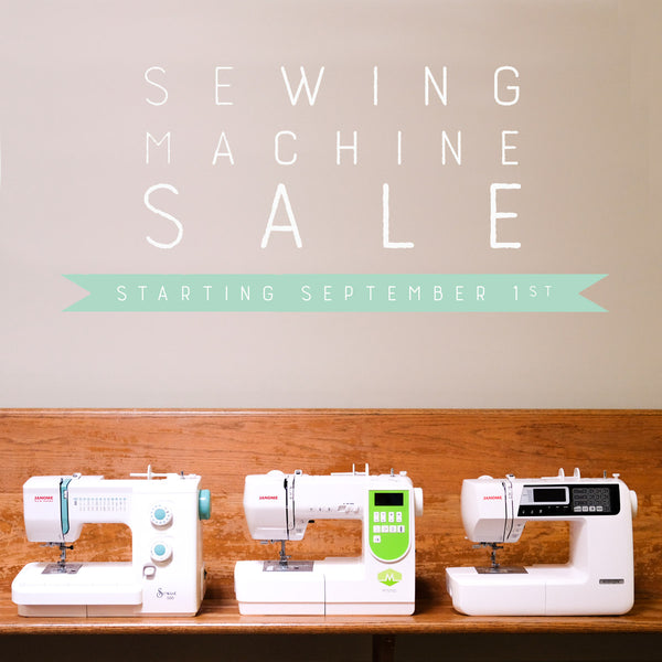 Sewing Machine Sale