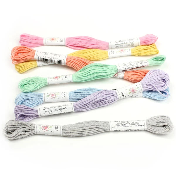 Sublime Embroidery Floss Palette Frosting