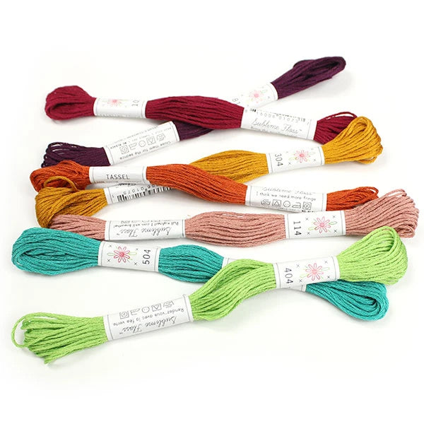 Sublime Embroidery Floss Palette Parlour