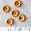 Rimmed Wood 4-Hole Button 18mm