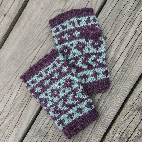 Arrowroot Mitts Pattern