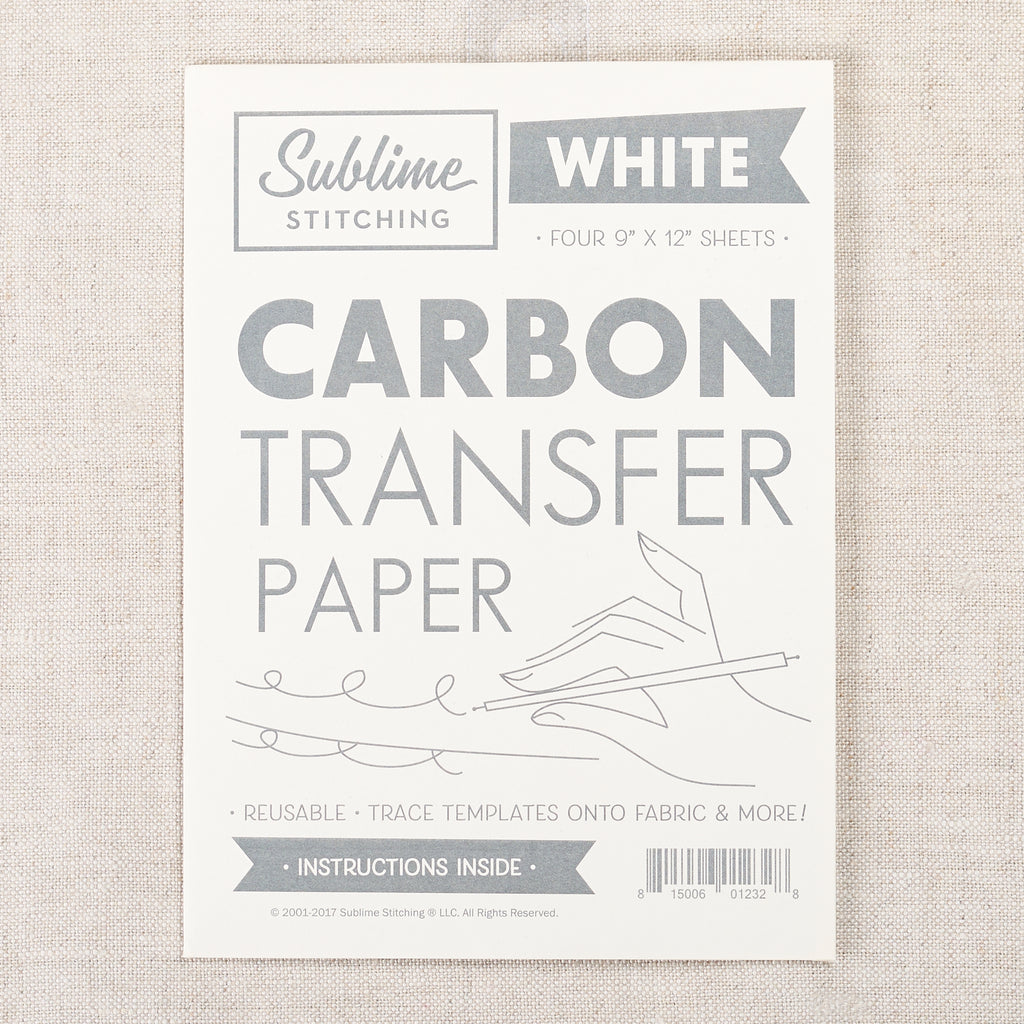 Carbon Transfer Paper — White