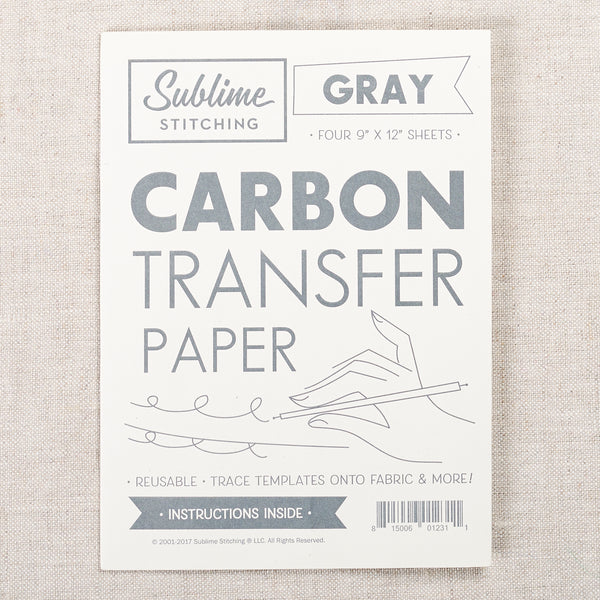 Carbon Transfer Paper — Grey