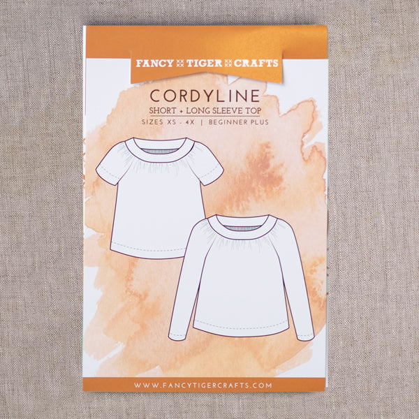 Cordyline Top Printed Pattern