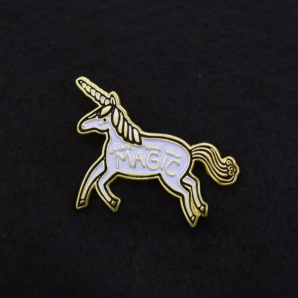Create Your Own Magic - Unicorn Enamel Pin