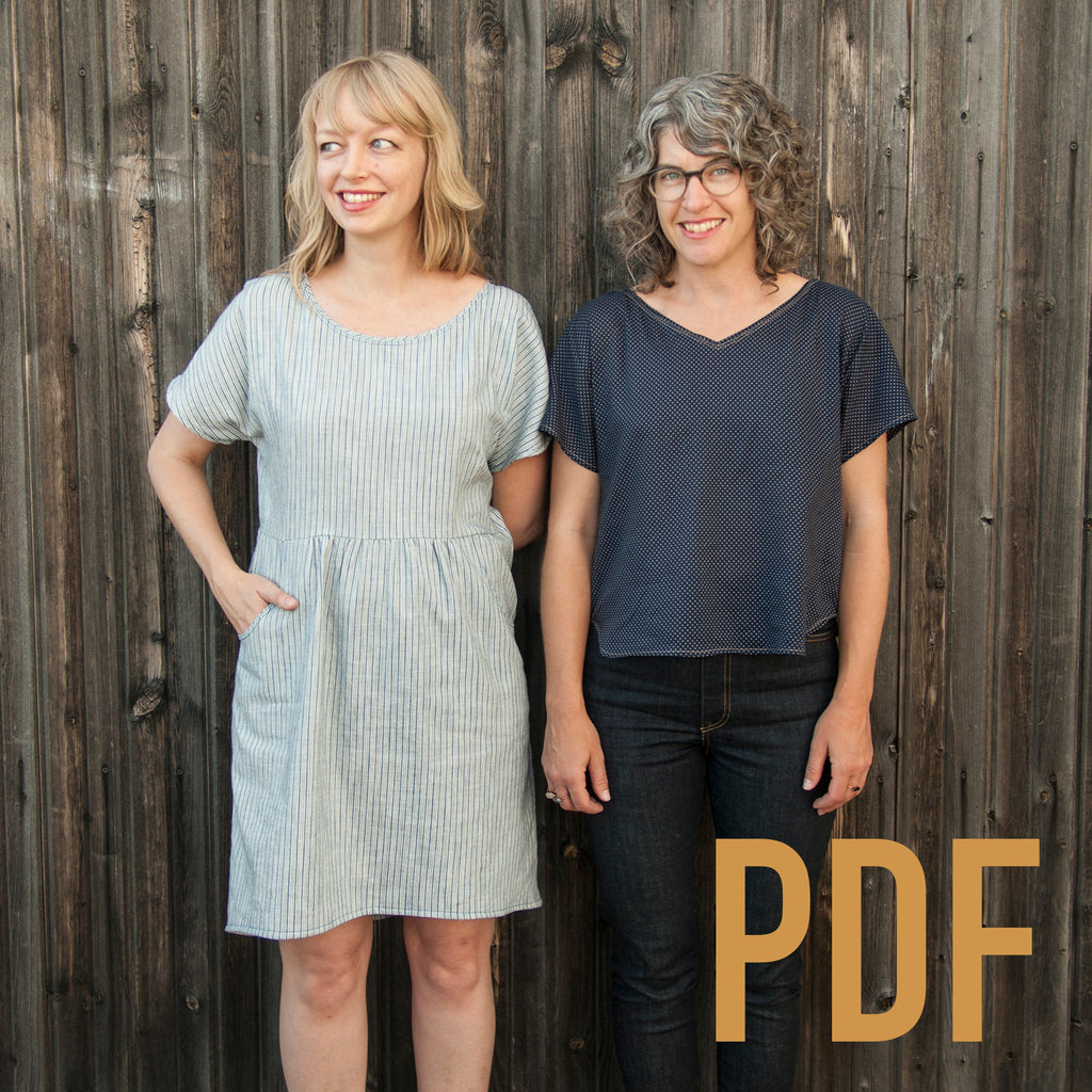 Fen Dress & Top PDF Pattern