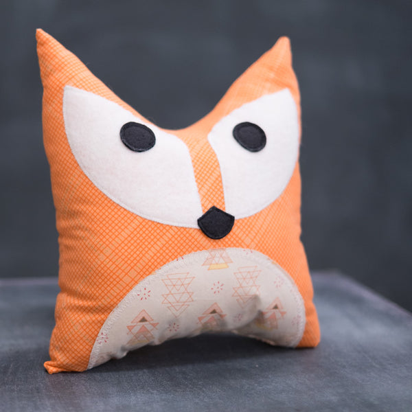 Kids Sewing 201: Foxy Pillow
