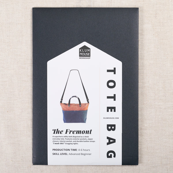 Fremont Tote Pattern