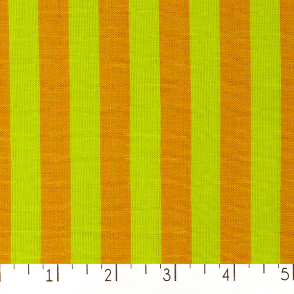 Narrow Stripe Shot Cotton