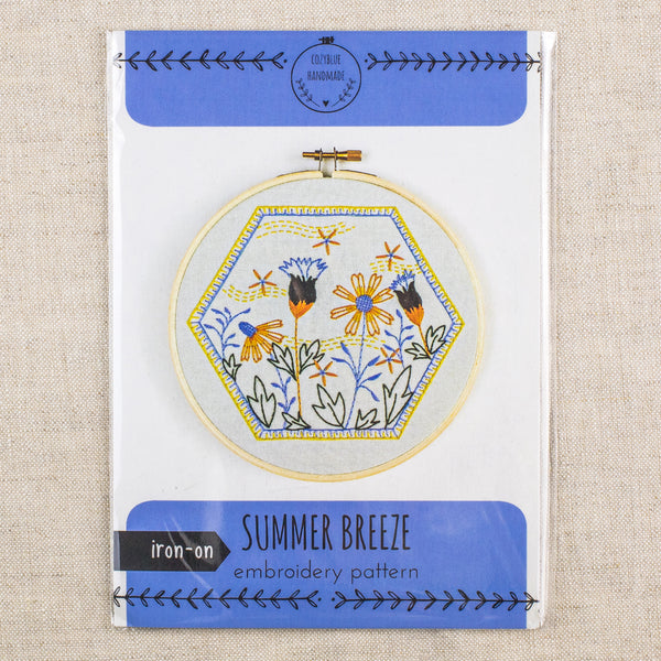 Summer Breeze Embroidery Pattern