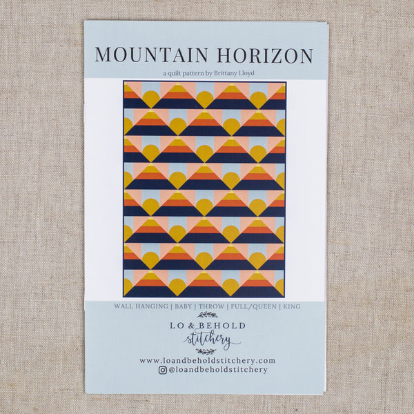 Mountain Horizon Quilt
