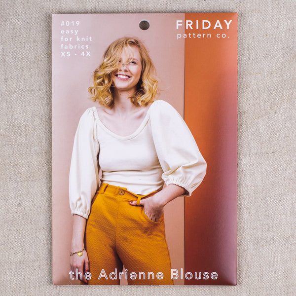 The Adrienne Blouse
