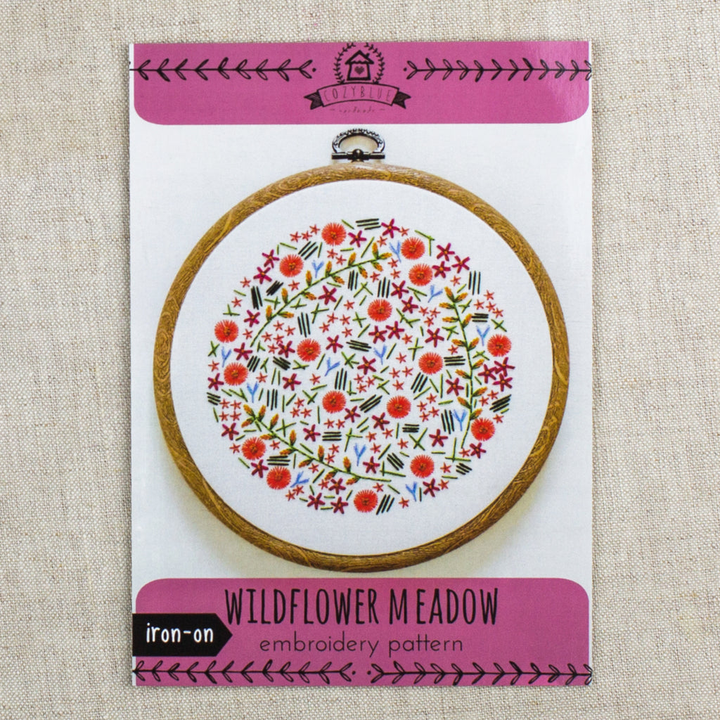 Wildflower Meadow Embroidery Pattern
