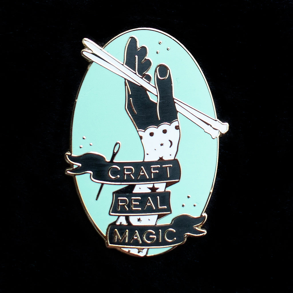 Craft Real Magic Enamel Pin