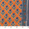 Organic Cotton Single Border Block Print