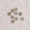 Glitter Button 9mm
