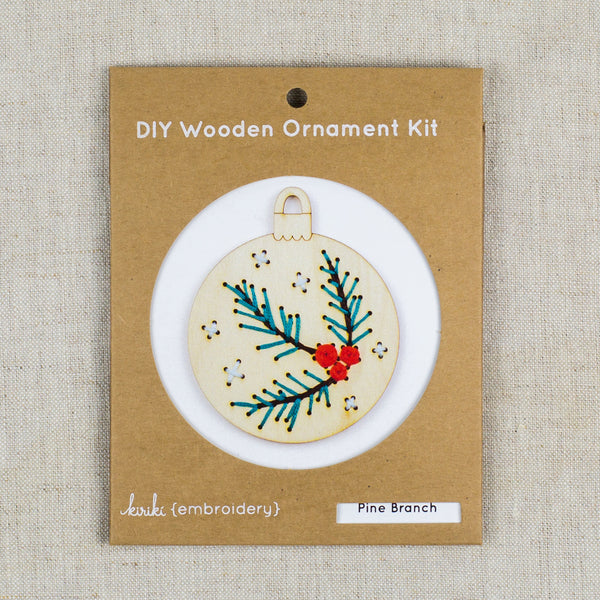 DIY Wooden Ornament Kit